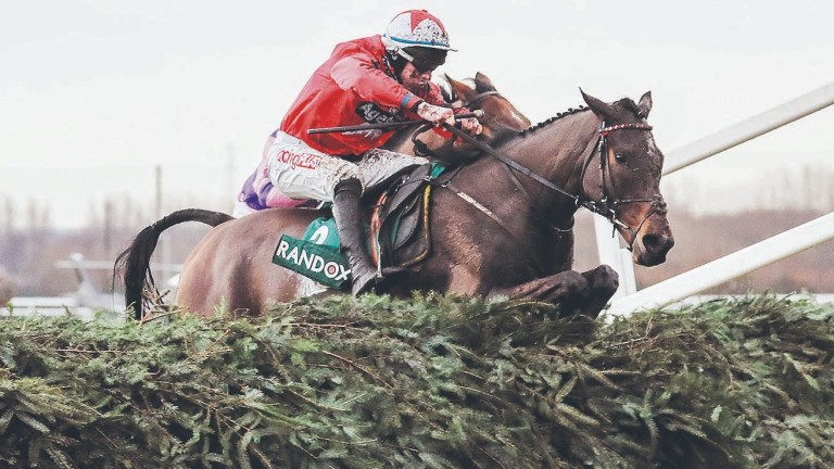 Blaklion, who was ruled out of the Grand National on Friday