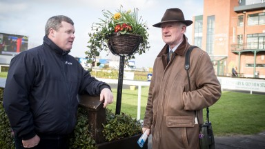 Willie Mullins and Gordon Elliott, the two superpowers of Irish jumps racing