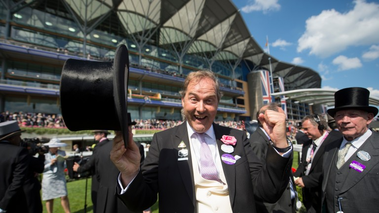 """Harry Herbert: """"Alastair called me the week before Royal Ascot and said I should definitely act quickly and buy him."""""""