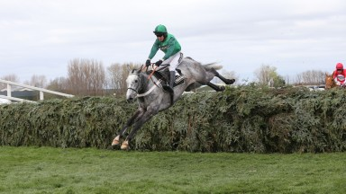 Ma Filleule soars over the Grand National fences