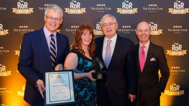 Jess Westwood (centre): Monkerty Tunkerty was crowned RoR Horse of the Year