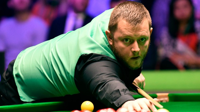 Mark Allen may have to toil for victory against in-form upstart Daniel Wells