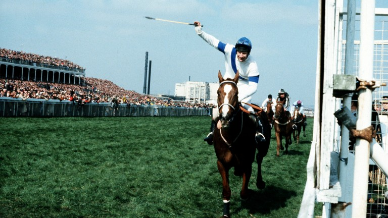 Bob Champion and Aldaniti defy the odds to win the 1981 Aintree Grand National