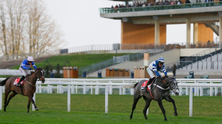 Angels Breath comes clear at Ascot before Christmas