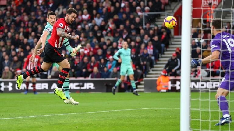 Southampton's Danny Ings exploited Arsenal's defensive weakness last weekend