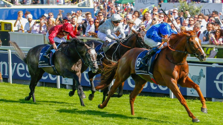 Masar: the 2018 Derby hero returned to action at Royal Ascot last month
