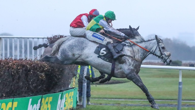 Lake View Lad: topweight will have 5lb taken off his back by new rider Theo Gillard
