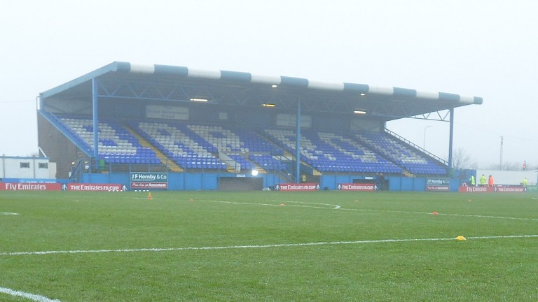Barrow take on Aldershot in the National League