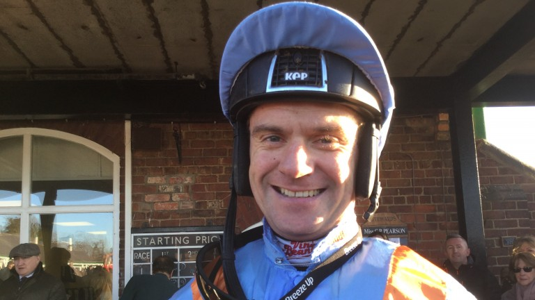 William Kennedy: successful on 50-1 shot Royal Practitioner
