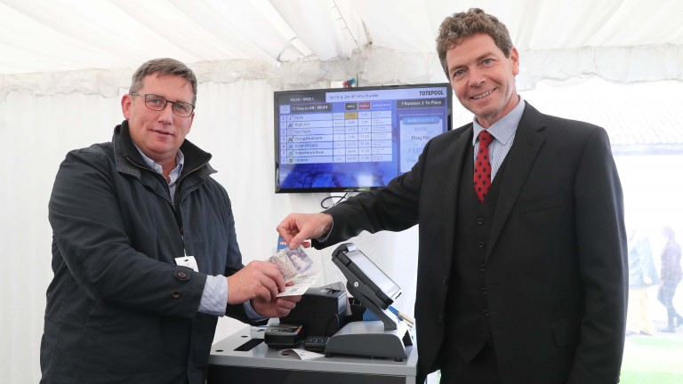 The first Tote bet on the new Britbet system was placed at Kelso in September