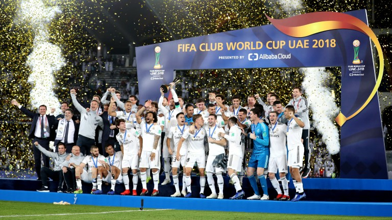 Real Madrid defeated Al Ain to win the FIFA Club World Cup in 2018