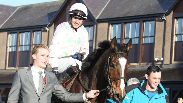 Vautour: winner of the Moscow Flyer Novice Hurdle in 2014 for Willie Mullins