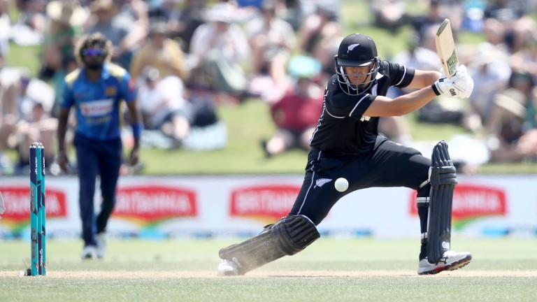 New Zealand Ross Taylor during the second ODI against Sri Lanka