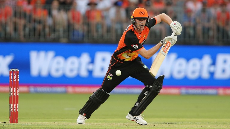 Ashton Turner has led by example with the bat