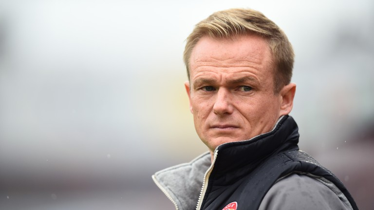 Walsall boss Dean Keates could see plenty of goals against Scunthorpe