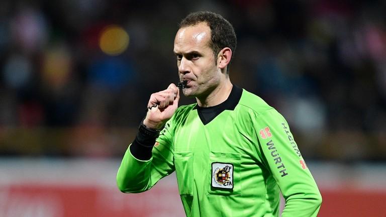 La Liga referee Mario Melero Lopez