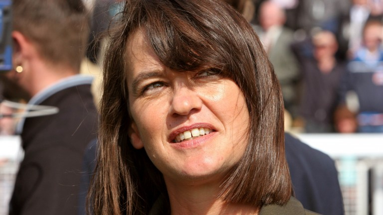 Jane Chapple-Hyam: has three horses set to go jumping this season