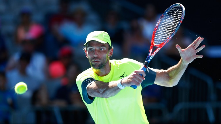 Veteran Ivo Karlovic is back enjoying his tennis again at the Australian Open