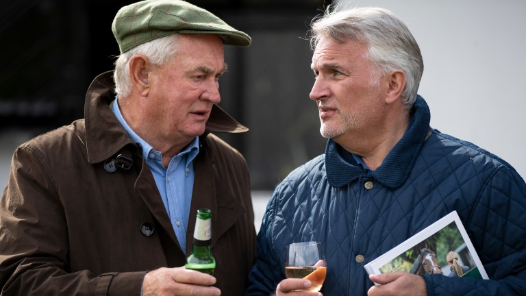 Angels Breath's owners Dai Walters (left) and Ronnie Bartlett