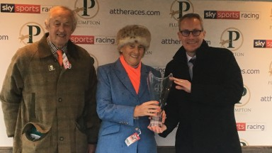 Winning owner-breeder Jane May capped an eventful few days with a winner at Plumpton