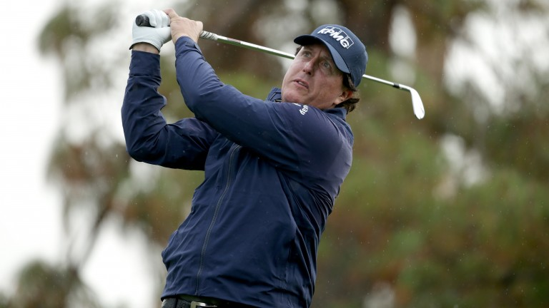 Phil Mickelson is one shot behind going into the final round