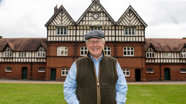 David Elsworth: trainer of No Nonsense