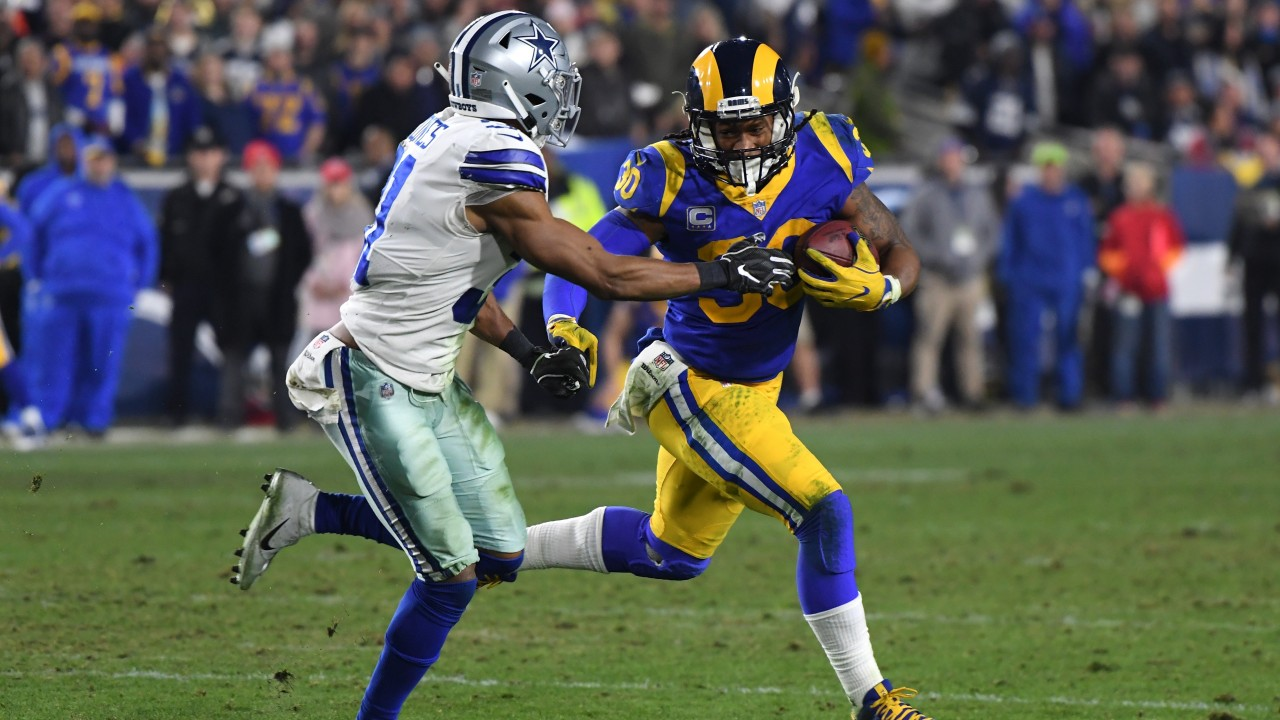 Todd Gurley earned 115 rushing yards and a touchdown against Dallas last  week 933fc4cb5