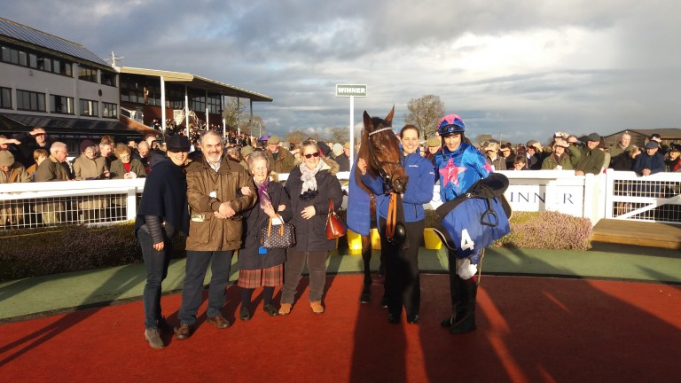 Royal Vacation with connections after winning at Taunton on Saturday