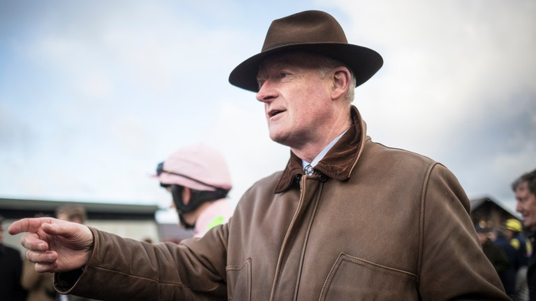 Willie Mullins is expecting to run four in his bid for a first Cheltenham Gold Cup