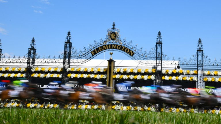 Flemington hosts the Melbourne Cup in November each year