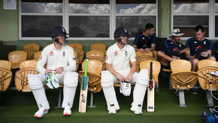 England openers Keaton Jennings and Rory Burns face a tough test in Bridgetown