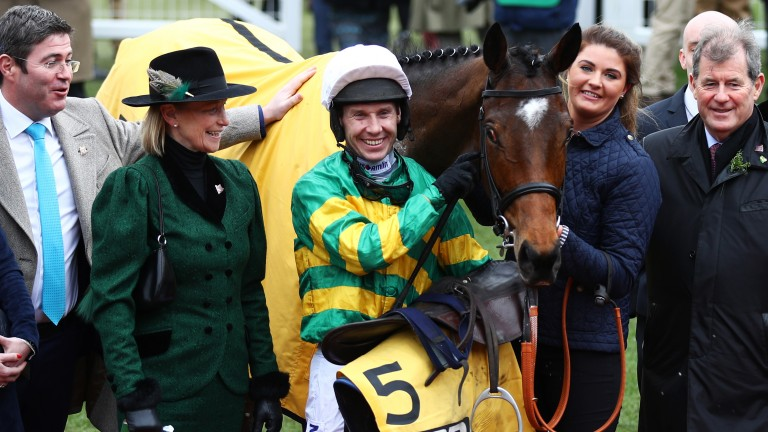 Defi Du Seuil: won on Trials Day before landing the Triumph Hurdle at the Cheltenham Festival in 2017