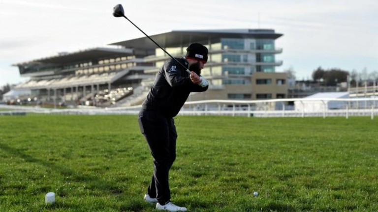 'Beef' Johnston in action at Cheltenham