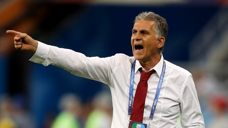 Carlos Queiroz's Iran side are a tough nut to crack