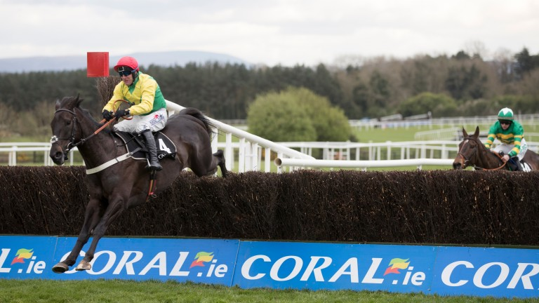 Mr Diablo unseated his rider four out in this handicap chase won by Sizing Granite at Punchestown, persuading his trainer to make the fateful trip to Killarney