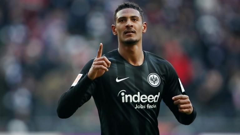 Sebastien Haller's attacking quality has been evident at Eintracht Frankfurt
