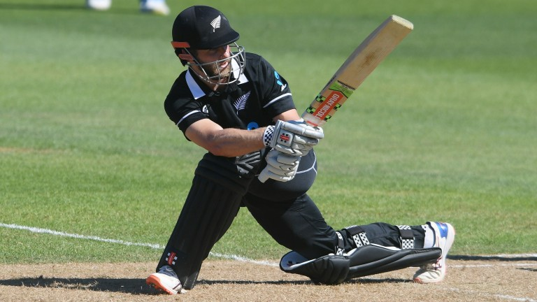 Kane Williamson was in good nick at the crease in New Zealand's first ODI against India