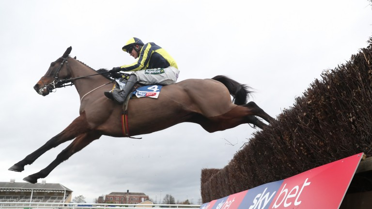 Go Conquer: entered in the Grand National