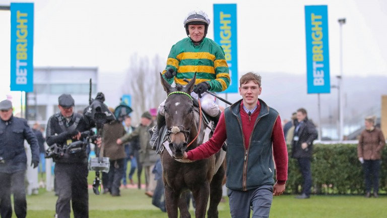 Barry Geraghty: has become the fourth most successful jump jockey in Britain and Ireland