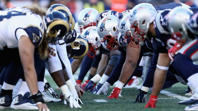 The Rams and Patriots meet in the Super Bowl for the second time, with New England coming out on top in 2002