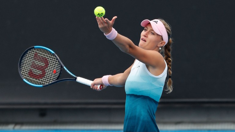 Kristina Mladenovic can put a first-round exit at the Australian Open behind her