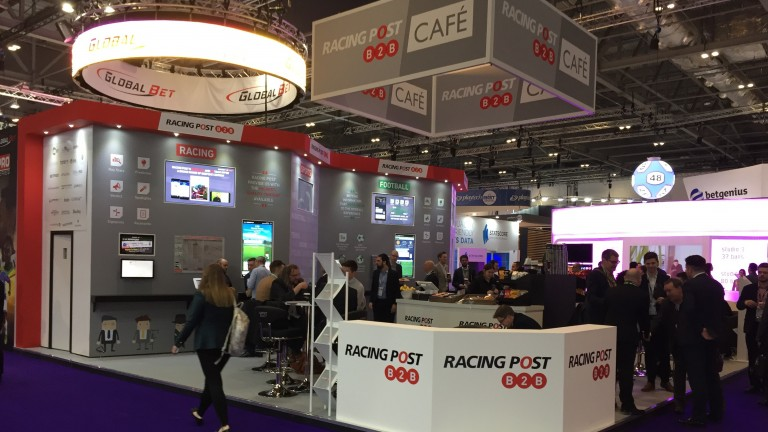 The Racing Post Cafe at the ICE London