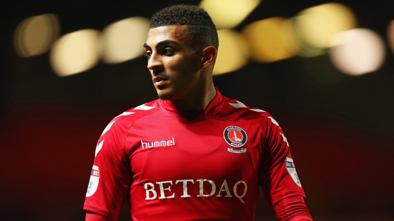 Karlan Grant's goals have been crucial to Charlton's promotion push this season