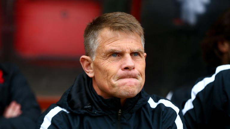 Dover boss Andy Hessenthaler will be eyeing victory against Gateshead