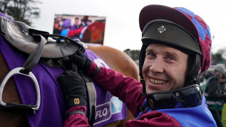 Richard Johnson: set for one ride at Musselburgh