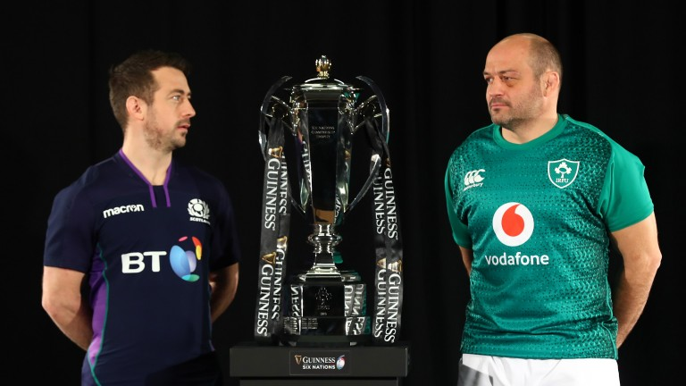 Captains Greig Laidlaw and  Rory Best