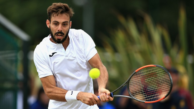 Marcel Granollers looks to be enjoying his singles outings more this year