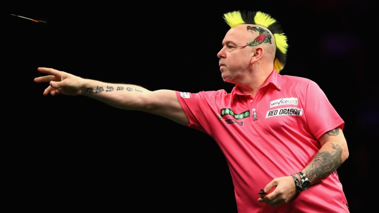 Peter Wright could give hotshot Michael van Gerwen most trouble in the Premier League