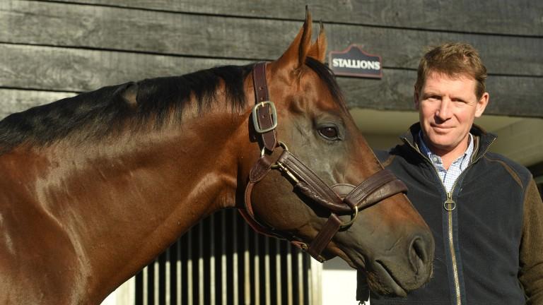 Zoustar with Tweenhills Stud owner David Redvers