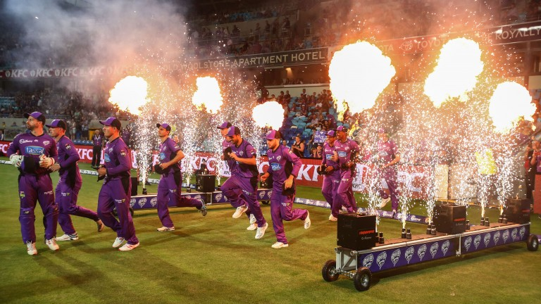 League leaders Hobart Hurricanes have lit up the Big Bash this season